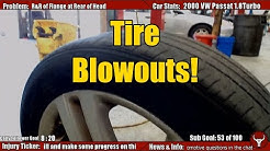Cause for Tire Blowouts