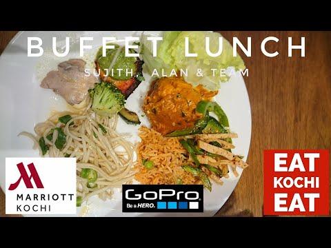A Buffet Lunch At Marriott Kochi - GoPro Quik Video