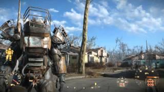 Fallout 4 Полная Силовая броня Рейдеров второго уровня