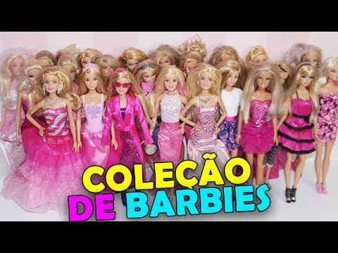 MINHA COLEÇÃO DE BARBIES