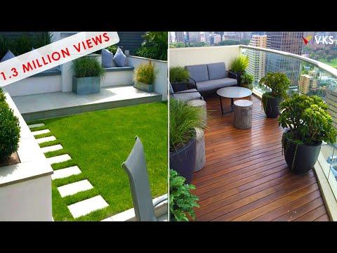 Balcony Garden Decorating Ideas | Backyard Seating | Rooftop Terrace Decor Ideas | Balcony Interior