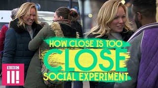 Invading Personal Space in Public | Social Experiment