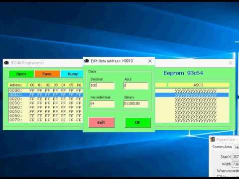93c46 editor programmer bascom & vb