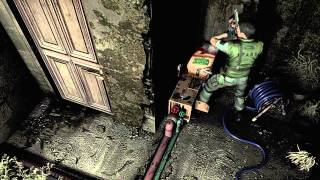 Resident Evil Remake Monster Plant kill - Playstation 4 HD gameplay