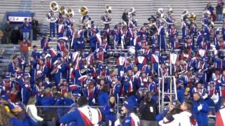 KU Marching Jayhawks played Home on the Range 11/19/16