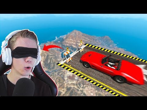 PLAYING GTA 5 WITH A BLINDFOLD!?