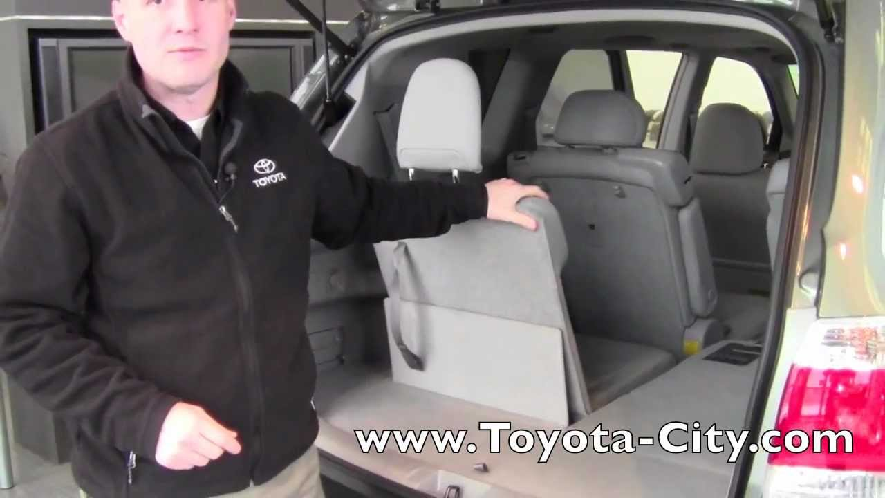 2017 Toyota Highlander Third Row Seat Operation How To By City Minneapolis Mn You