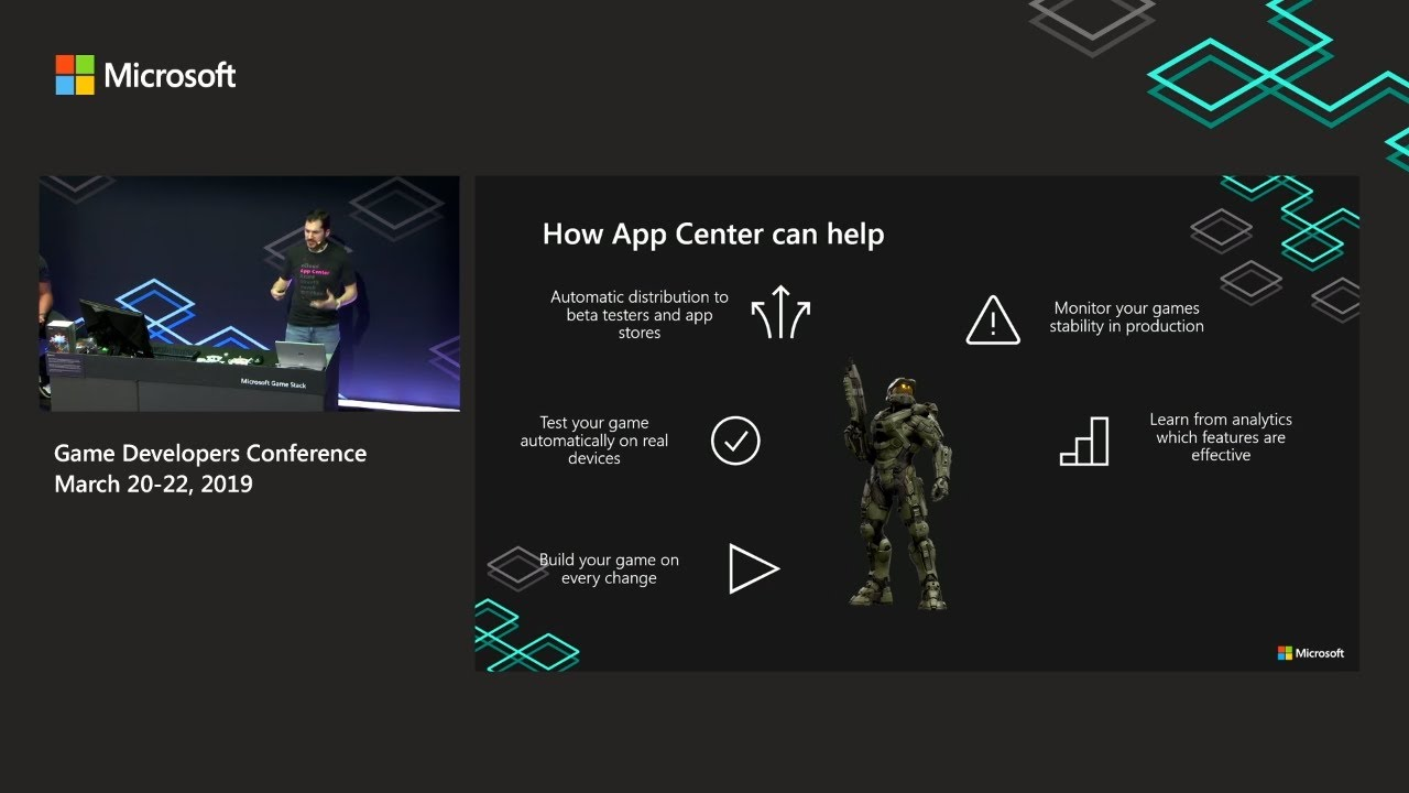 Build your game more efficiently with App Center and PlayFab | Game  Developers Conference 2019