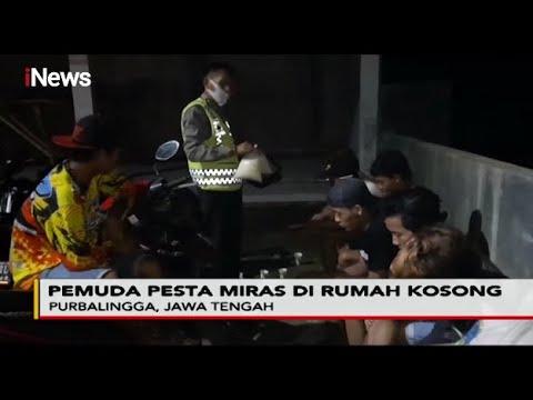 Mengaku Bosan Di Rumah, 7 Pemuda Di Purbalingga Asyik Pesta Miras - Police Line 25/06