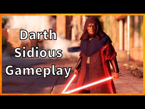 Darth Sidious SW: BATTLEFRONT 2 Exclusive Badass Gameplay!