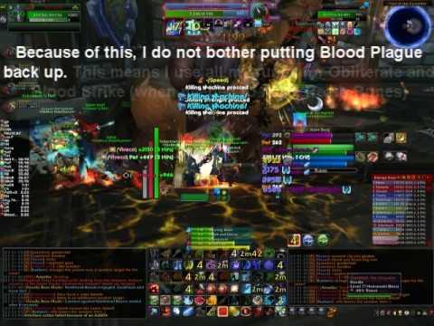How To DK 1 - Frost Dual Wield Rotation by Hartayke Frost DW DPS Death Knight