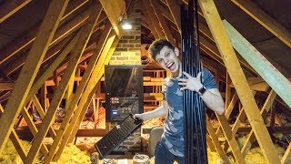 the ULTIMATE GAMING Loft CONVERSION - (EPISODE 1 - NETWORK)
