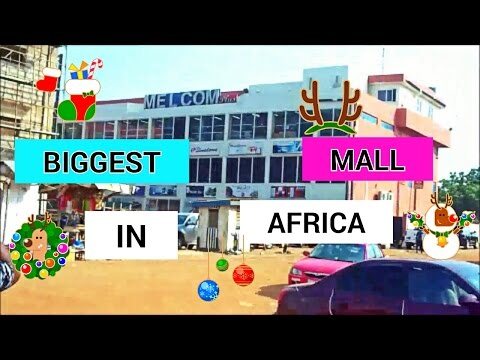 SHOPPING in THE BIGGEST MALL in AFRICA | GHANA
