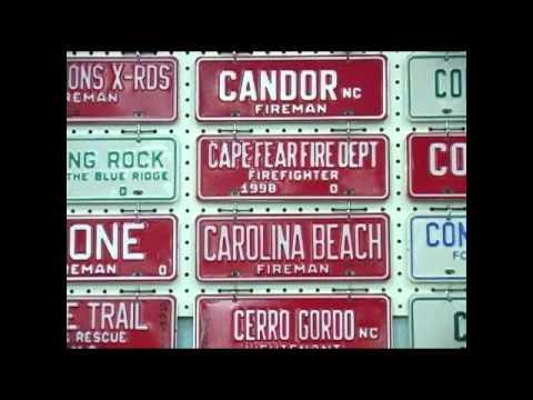 Female inmates produce North Carolina license tags