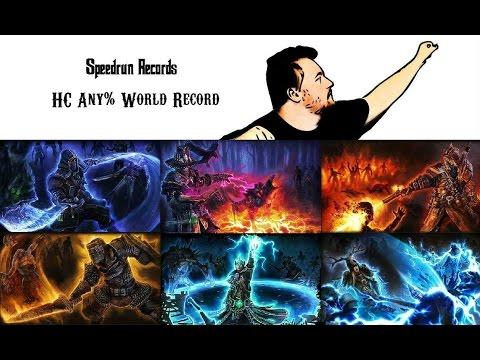 Grim Dawn Speedrun | HC Any% | World Record | 1h 12min 49sec