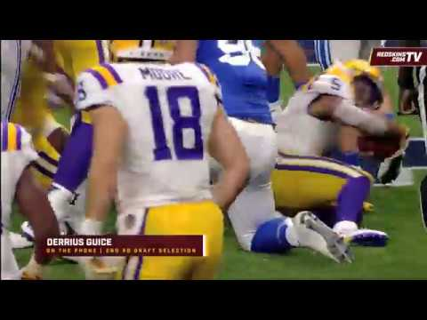 002d2c9d4 Redskins Nation  RB Derrius Guice (4 27 18) - YouTube