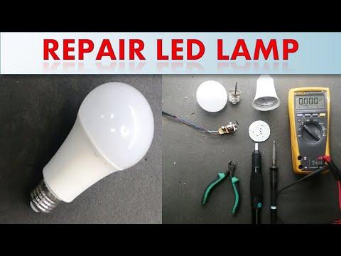 How To Repair LED Lamp / Bulb