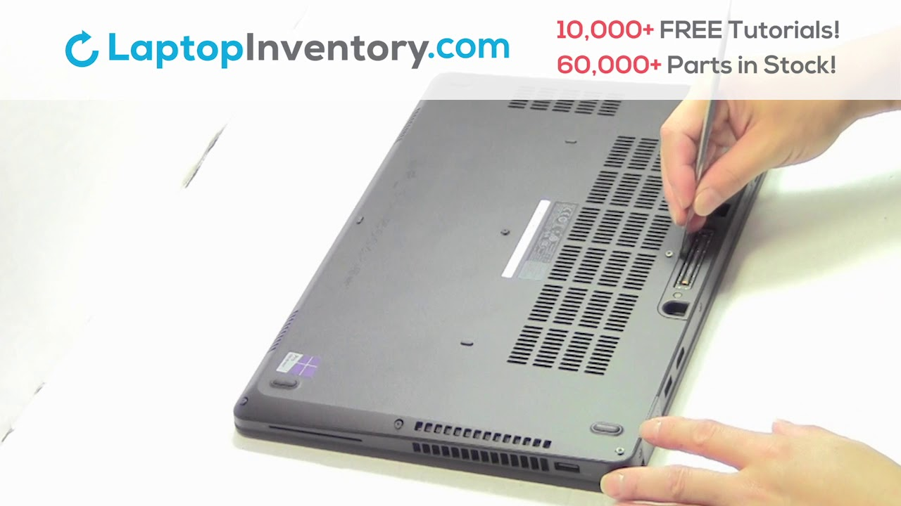How to replace Laptop Battery Dell Latitude E5470  Fix, Install, Repair  E5450 E7450 P72G NSK-LK0BC
