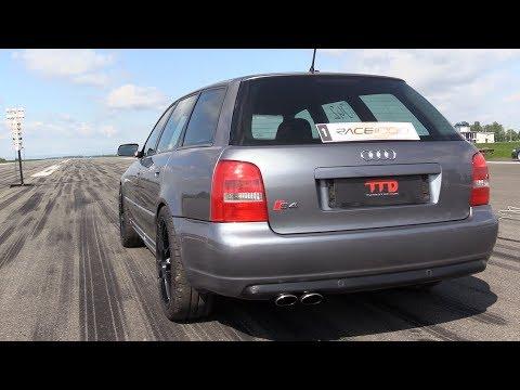 1200HP Audi S4 Bi-Turbo GT3086 - FAST 0-300 km/h Accelerations!