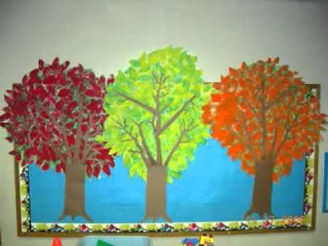 Bulletin board decorations ideas for thanksgiving - YouTube