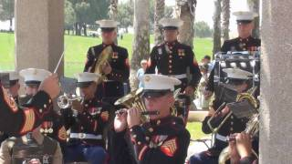 1st Marine Division Band Plays You