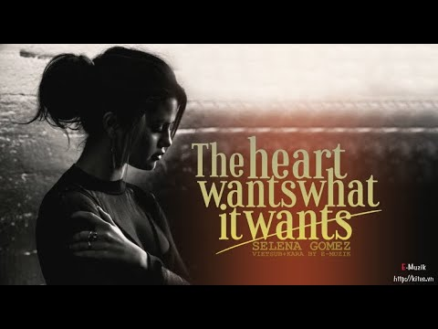 Lyrics + Vietsub The heart wants what it wants  Selena Gomez