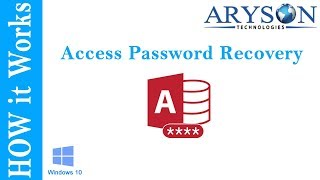 Best MS Access Password Recovery or ACCDB - MDB Password Recovery Online