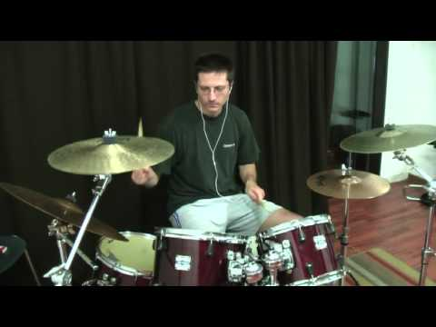 hell is for heroes i can climb mountains drum cover.mpg