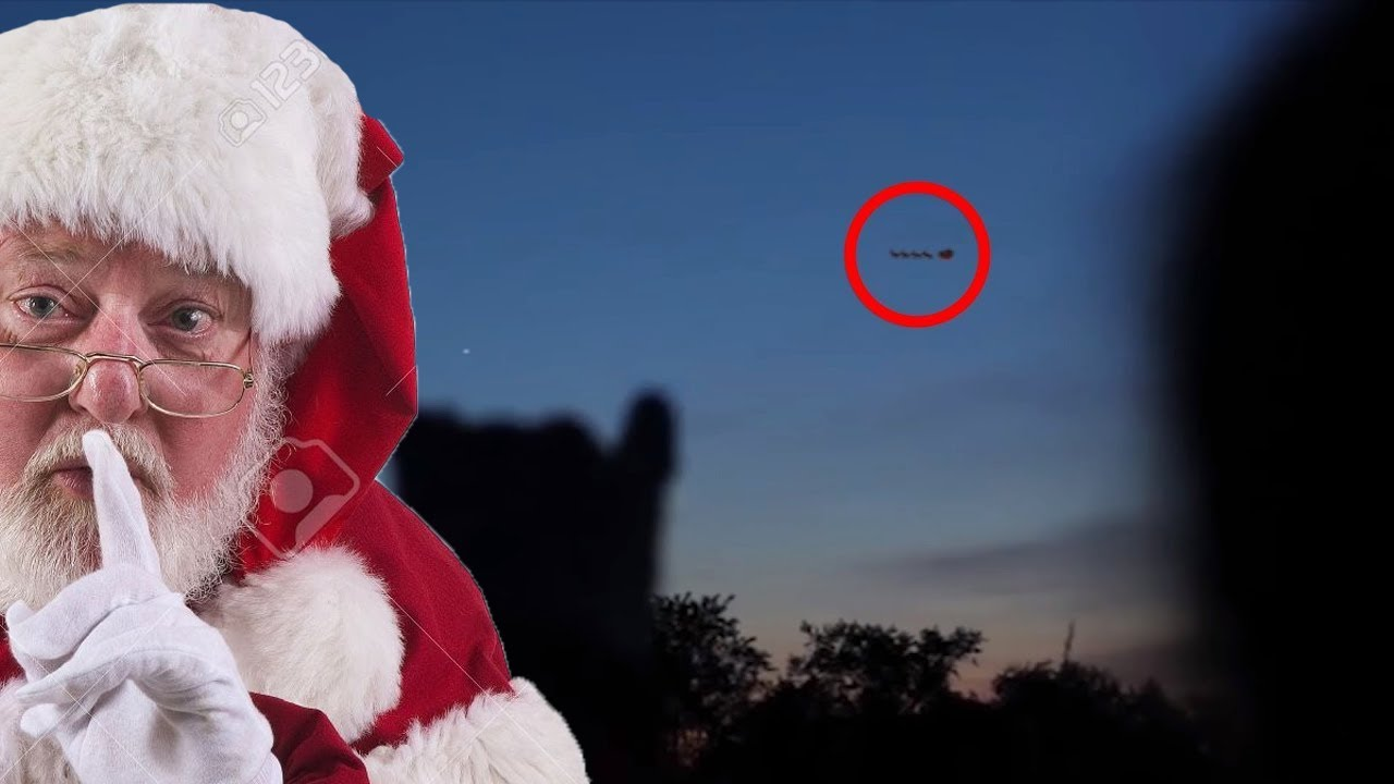 10 Home Videos of Santa Claus Caught On Tape