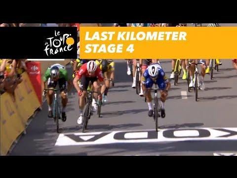 Last kilometer - Stage 4 - Tour de France 2018