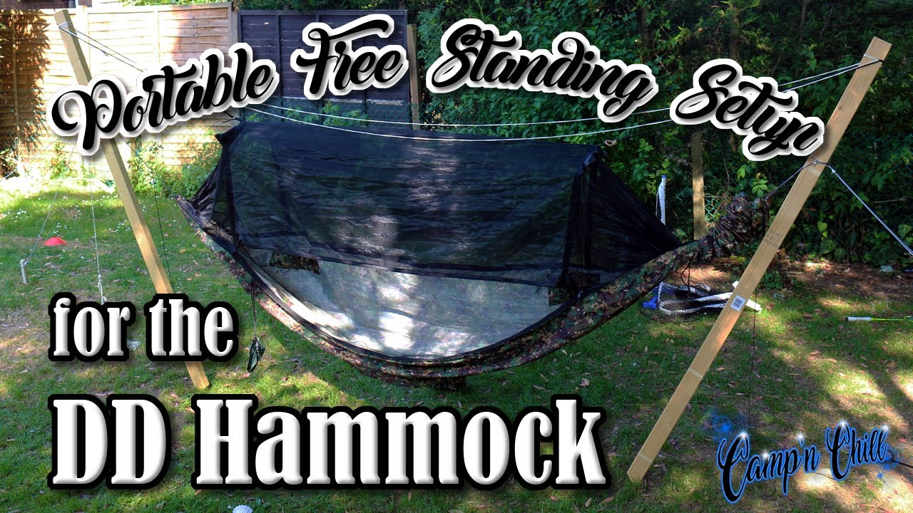 Portable Free Standing Setup For The Dd Hammock Camp N Chill