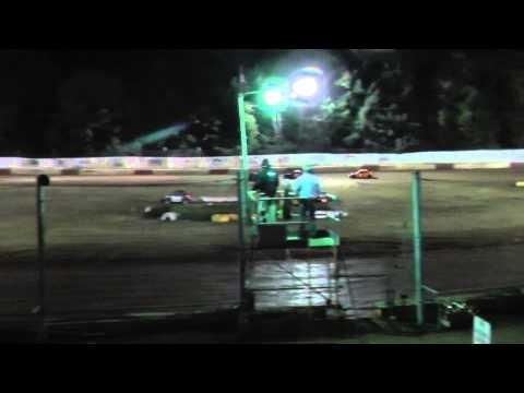 4 cylinder trophy dash om 9/27/2014 at River city speedway