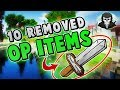 10 OVERPOWERED Skywars Items You Didn't Know Were Removed!