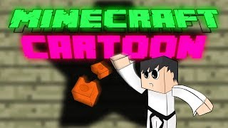 Wie man einen BLOCK in MINECRAFT | Minecraft Animation | DM-Pixel