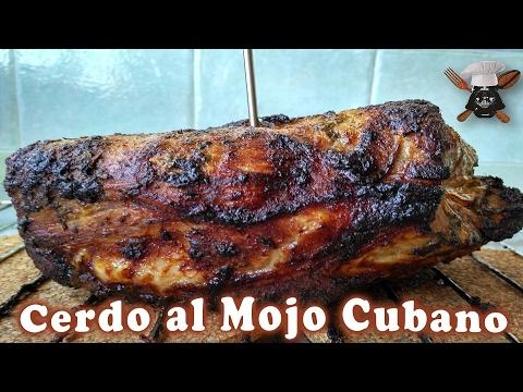 Cerdo al mojo cubano + bocadillo cubano | Con aceite y sal