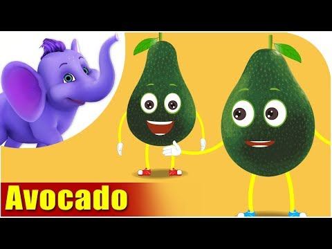 Avocado - Fruit Rhymes in Ultra HD (4K)