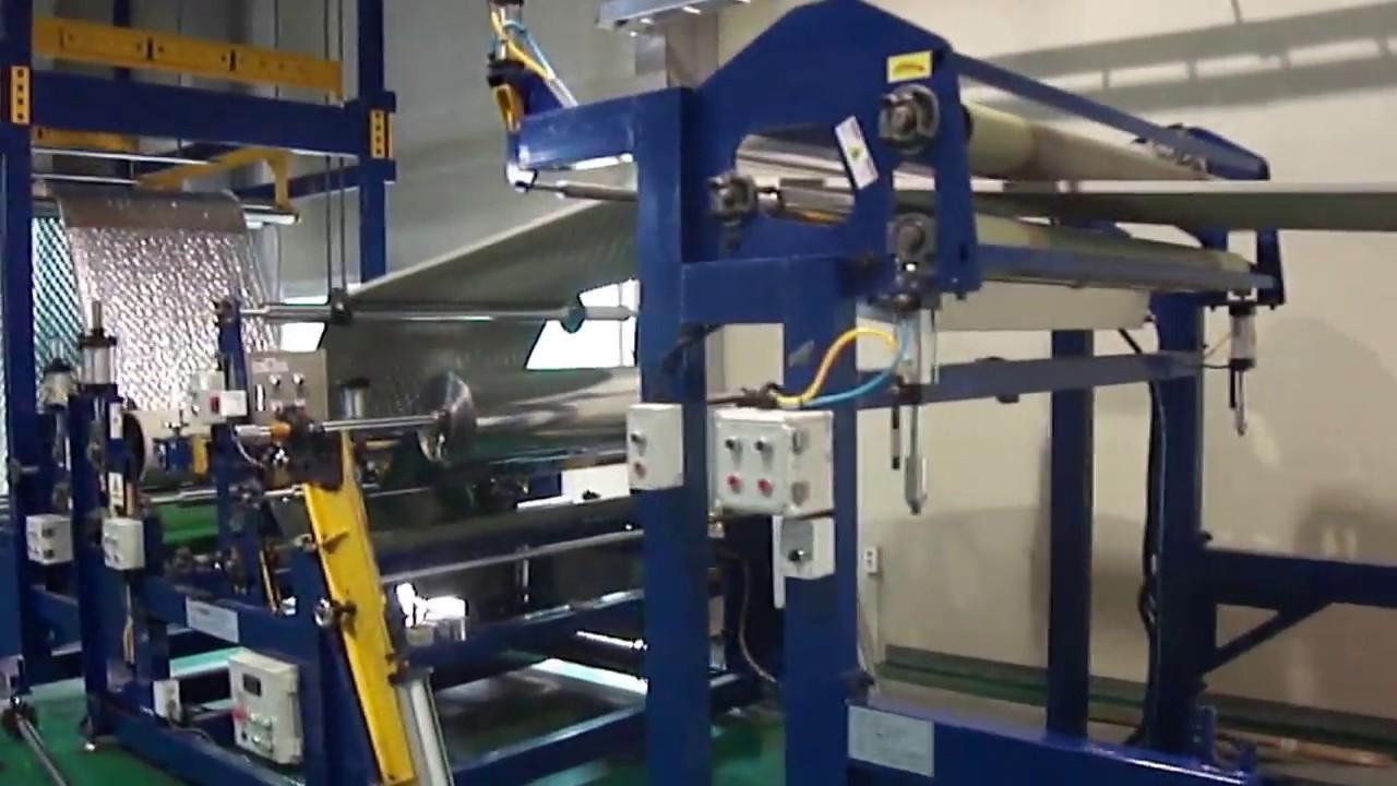 LAMI-BONDING MACHINE for Insulation XLPE FOAM