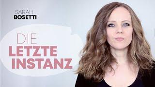 """Sarah Bosetti über """"Die letzte Instanz"""""""