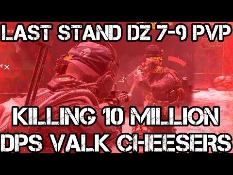 LAST STAND DZ 7-9 PREDATOR M4 PvP KILLING 10 Million DPS Valkyria/Eir CHEESERS - The Division 1.6