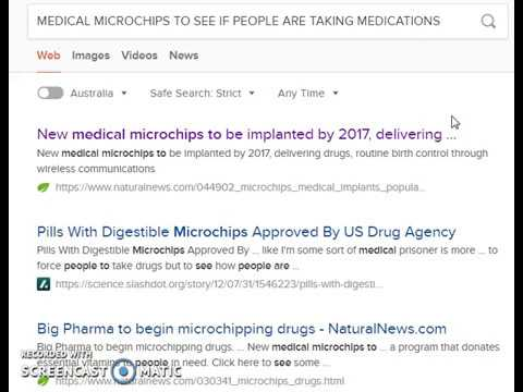 MICROCHIPS IN MEDICATIONS...HAVE YOU TAKEN YOUR MEDS TODAY?