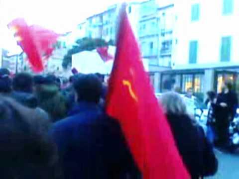 A Livorno per il 91° anniversario della Fondazione del Partito Comunista d