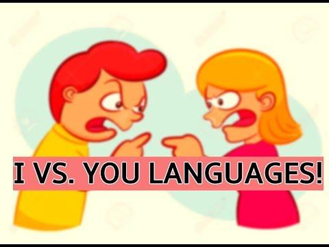 I VS. YOU LANGUAGES ! Interpersonal Communication