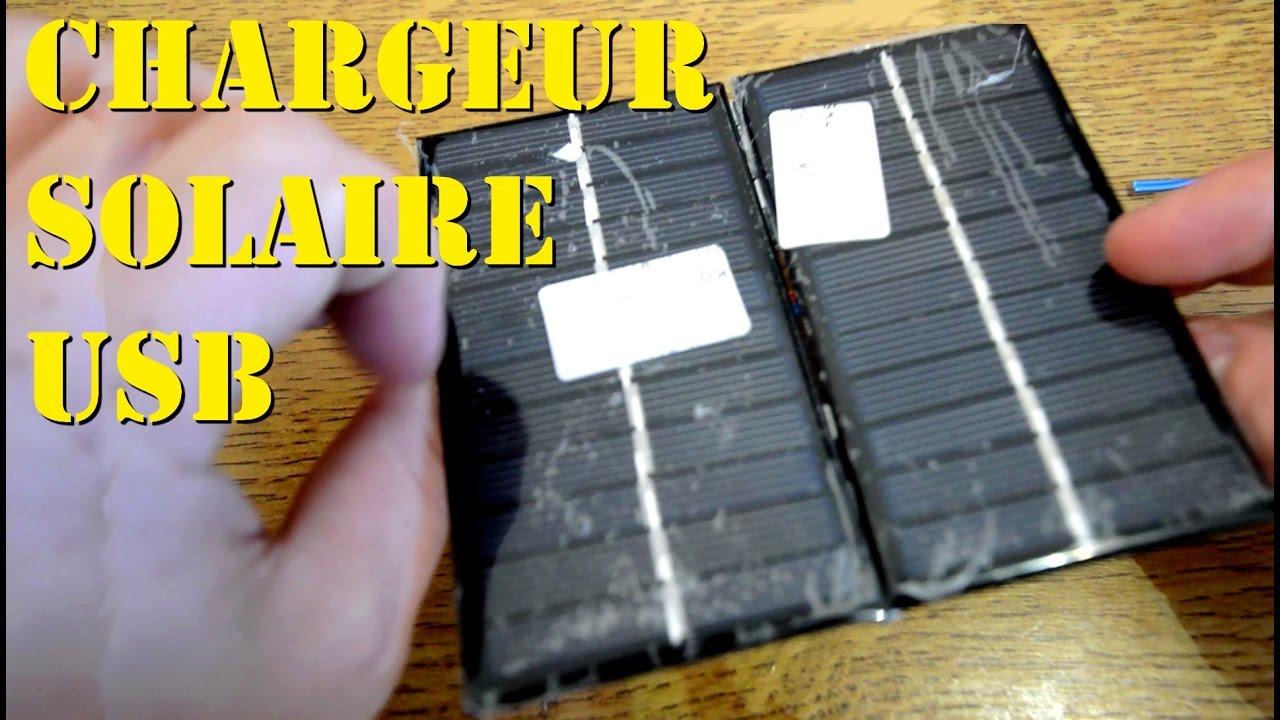 Top Fabriquer facilement un chargeur usb solaire pour 4€ ! - YouTube NY41