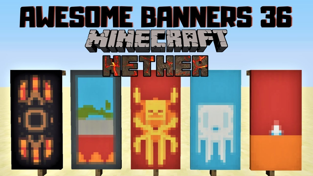5 Awesome Minecraft Banner Designs With Tutorial 36