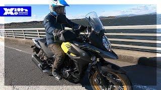 程良いパワー!2018 SUZUKI V-Strom 650 XT ABS|丸山浩の速攻バイクインプレ