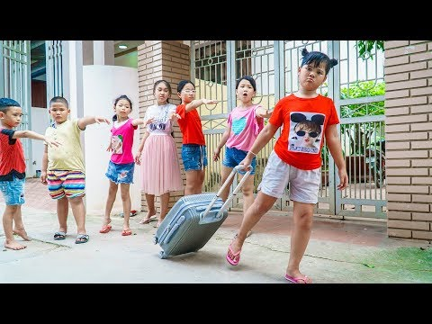 Kids Go To School | Chuns Traveling Have Fun With Your Friends For The Last Time