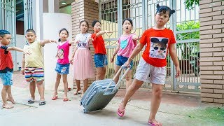 Kids Go To School | Chuns Traveling Have Fun With Your Friends For The Last Time MP3