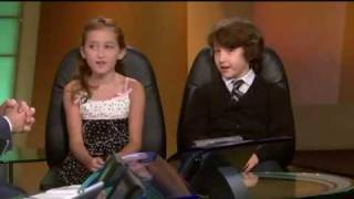 Noah Cyrus And Frankie Jonas - Interview On KTLA News (HQ)
