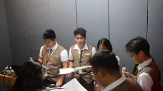 SAAP English Radio Broadcasting CSPC 2017 | St. Augustine Academy of Pampanga