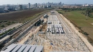 Construction of Israeli light rail project in full swing amid pandemic